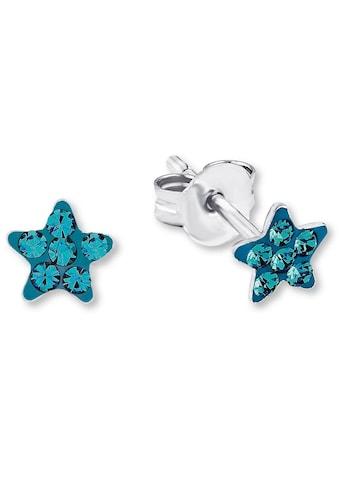 Amor Paar Ohrstecker »Stern, 9209859«, mit Kristallglassteinen kaufen