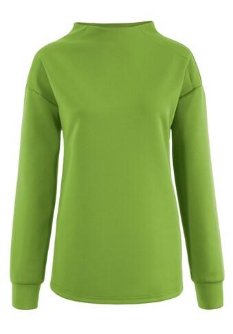 Aniston SELECTED Sweatshirt, mit Einsätzen in den Schultern - NEUE KOLLEKTION kaufen