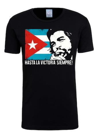 LOGOSHIRT T-Shirt »Che - Cuban Flag«, mit lizenziertem Originaldesign kaufen