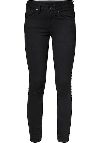 G-Star RAW Skinny-fit-Jeans »Arc 3D Mid Skinny«, mit coolen Knieabnähern kaufen