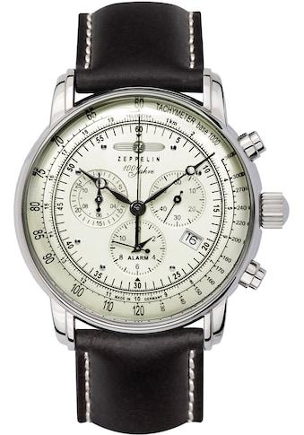 ZEPPELIN Chronograph »100 Jahre Zeppelin, 8680-3«, Made in Germany kaufen