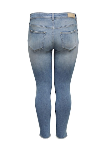 ONLY CARMAKOMA Skinny-fit-Jeans »Willy«, in washed-out Optik kaufen