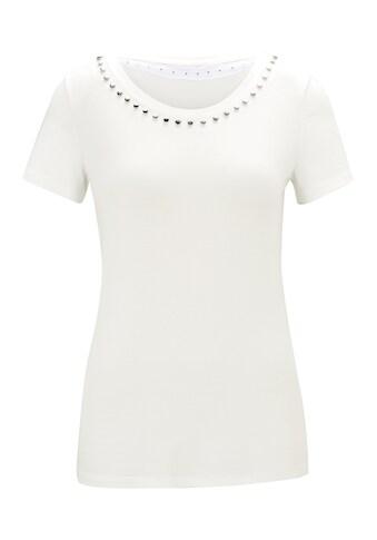Shirt mit Nieten - Besatz kaufen