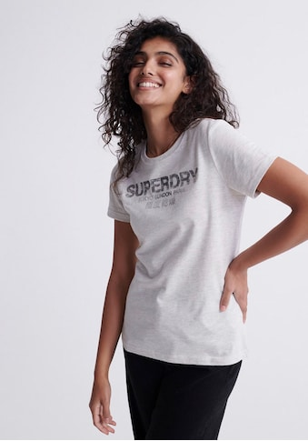 Superdry T - Shirt »CITY NIGHTS SNAKE ENTRY TEE« kaufen