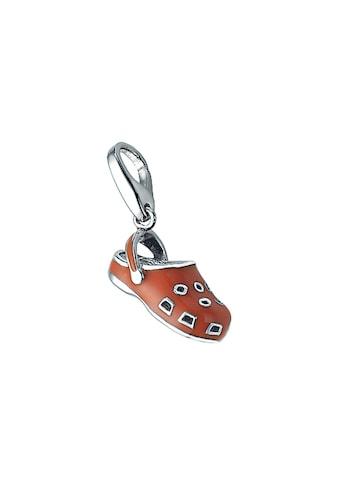 GIORGIO MARTELLO MILANO Charm-Einhänger »Schuh mit Kaltemaille, Silber 925« kaufen