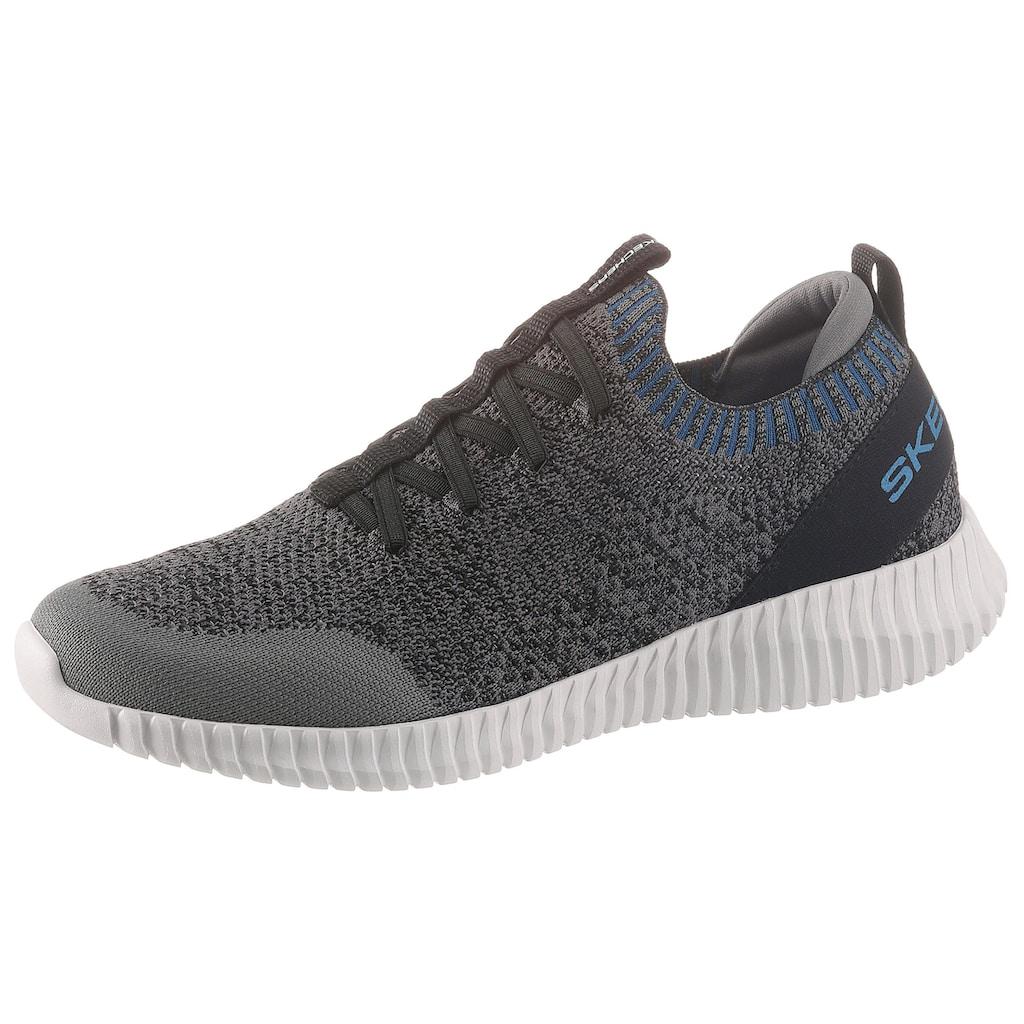 Skechers Slip-On Sneaker »Elite Flex«, mit komfortabler Air-Cooled Memory Foam