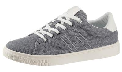 Tommy Hilfiger Sneaker »CUPSOLE PLANT DYE TEXTILE«, mit Logoschriftzug an der Zunge kaufen