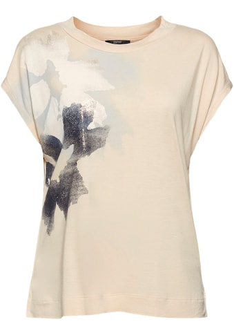 Esprit Collection T-Shirt, mit Glitzer Botanik-Print kaufen