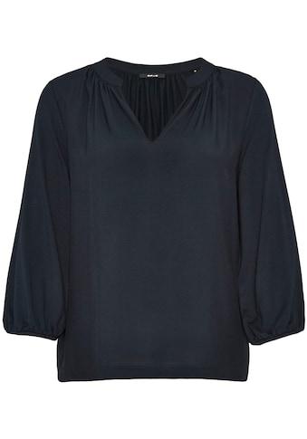 OPUS Blusenshirt »Sulese«, mit Raffung am Ausschnitt und Ärmeln kaufen