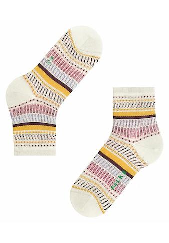 FALKE Socken »Loom Tape«, (1 Paar), aus Biobaumwolle kaufen