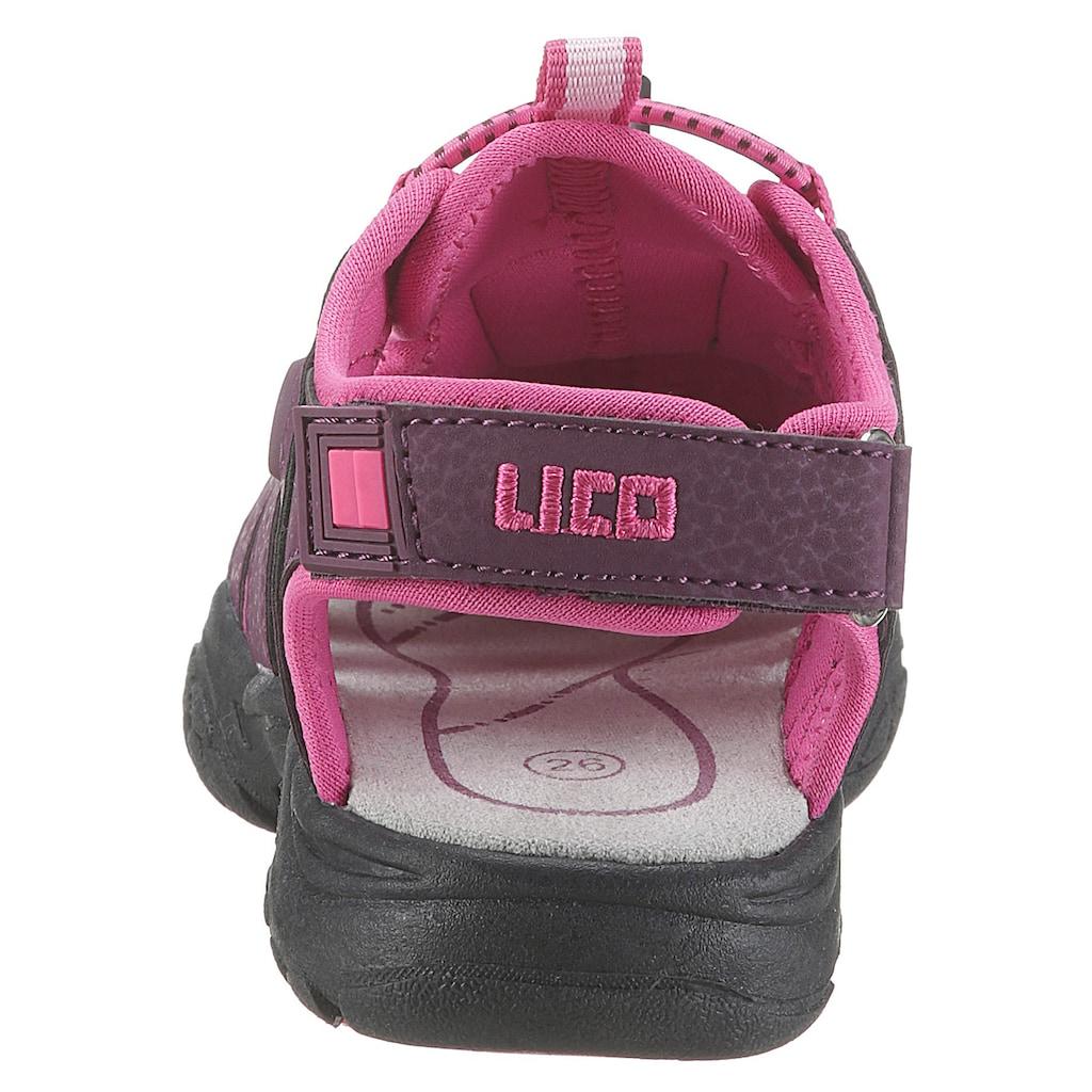 Lico Sandale »Nimbo«, mit praktischem Schnellverschluss