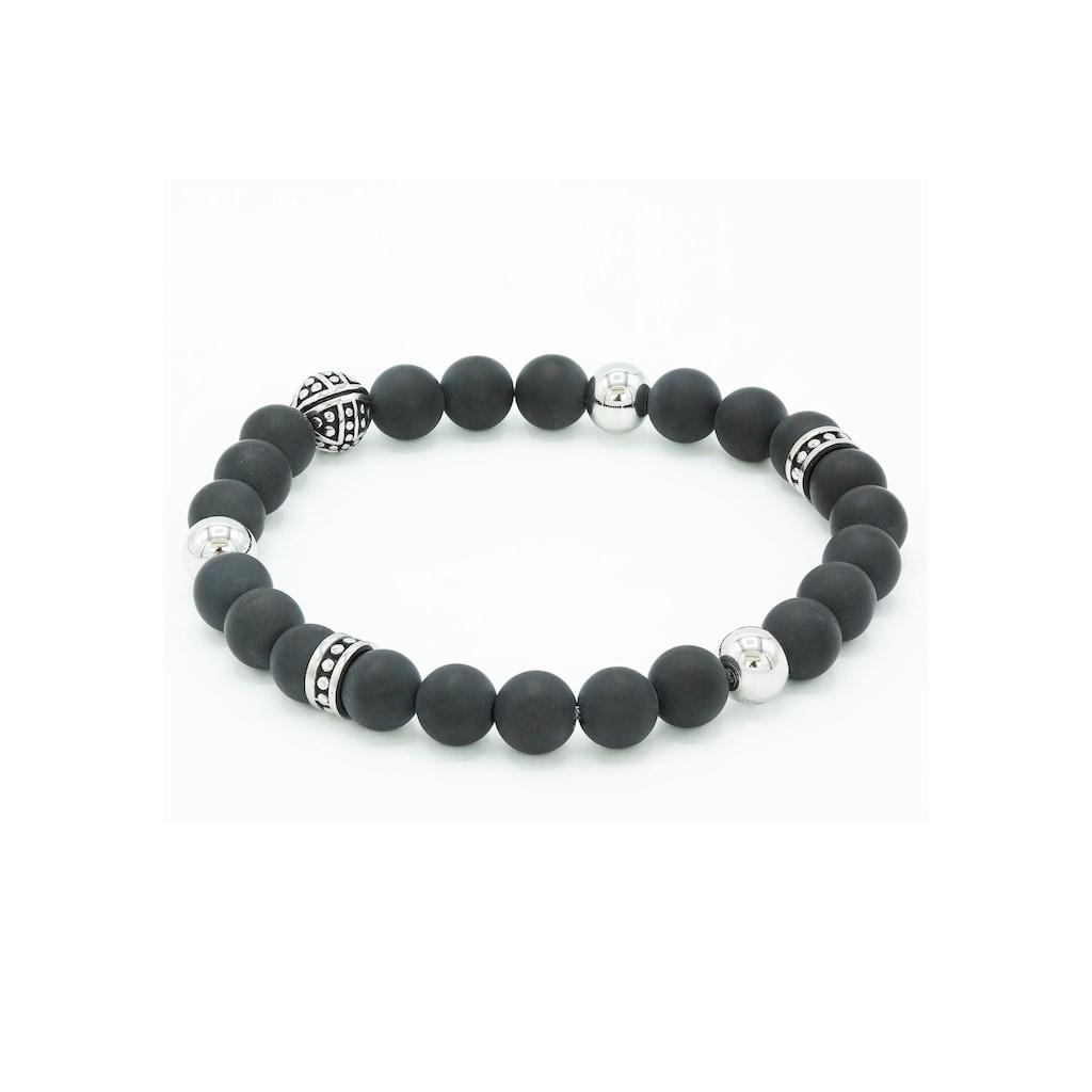 STEELWEAR Armband »Honululu, SW-603«, mit Onyx