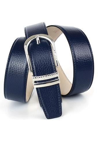 Anthoni Crown Ledergürtel, mit eleganter Dornschließe, Rindsleder kaufen