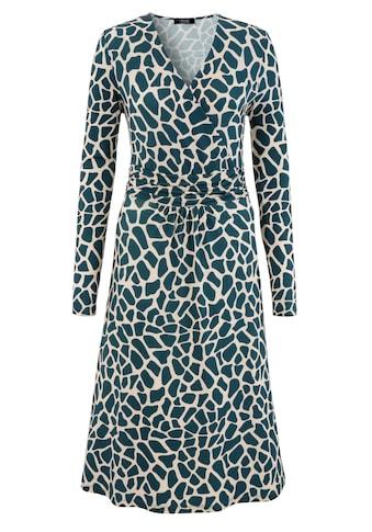 Aniston SELECTED Jerseykleid, im farbigen animal-print - NEUE KOLLEKTION kaufen