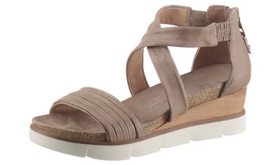 Mjus Sandalette »TAPASITA«, mit praktischem Fersenreißverschluss kaufen