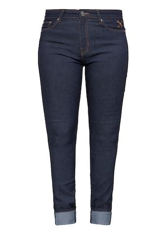 QueenKerosin Slim-fit-Jeans, im 5-Pocket-Design mit bestickten Gesäßtaschen kaufen