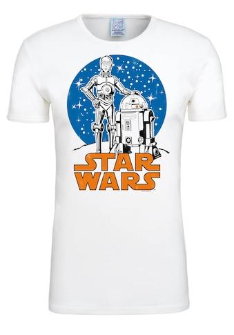 LOGOSHIRT T-Shirt »Droids«, mit lizenzierten Originaldesign kaufen
