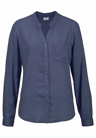 AJC Hemdbluse, mit unterschiedlichen Druckvarianten oder in Uni kaufen
