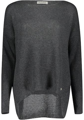 Please Jeans Rundhalspullover »PL - M49« kaufen