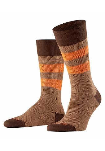Burlington Socken Neon Glencheck (1 Paar) kaufen