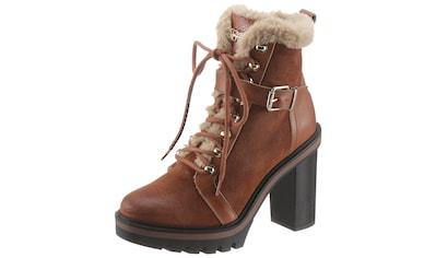 TOMMY HILFIGER High - Heel - Stiefelette »TOMMY WARM LINED HIGH HEEL BOOT« kaufen