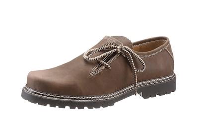 Country Line Schnürschuh, mit gemusterten Schnürsenkel kaufen