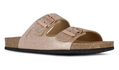 Geox Pantolette »Brionia«, im Metallic Look kaufen
