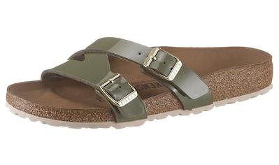 Birkenstock Pantolette »YAO«, in Schuhweite: schmal kaufen