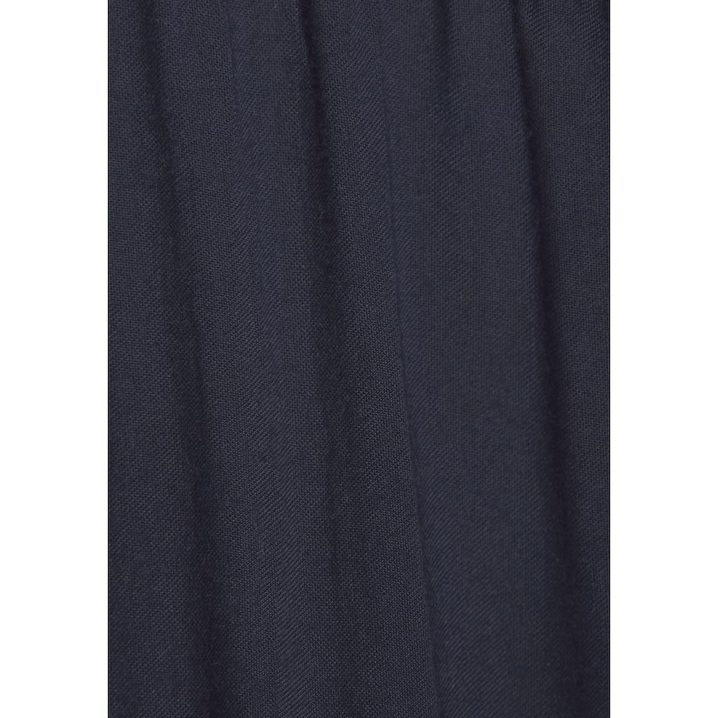 LASCANA Longbluse, mit Spitzeneinsätzen