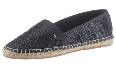 Tommy Jeans Espadrille »MONOCHROME ESPADRILLE«, mi typischer Rahmennaht kaufen