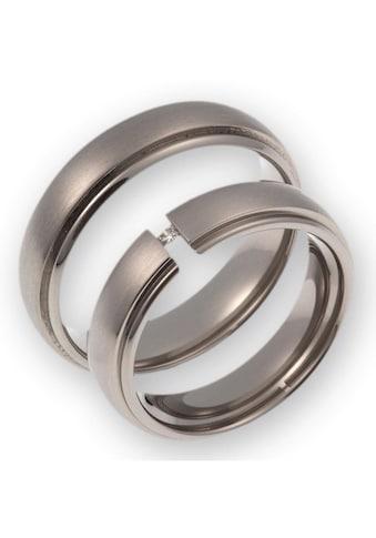 CORE by Schumann Design Trauring »20006174-DR, 20006174-HR, ST050.04«, Made in Germany - wahlweise mit oder ohne Diamant kaufen