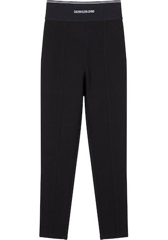 Calvin Klein Jeans Leggings »MILANO LOGO ELASTIC LEGGING«, mit breitem Calvin Klein Logo-Elastikbund kaufen