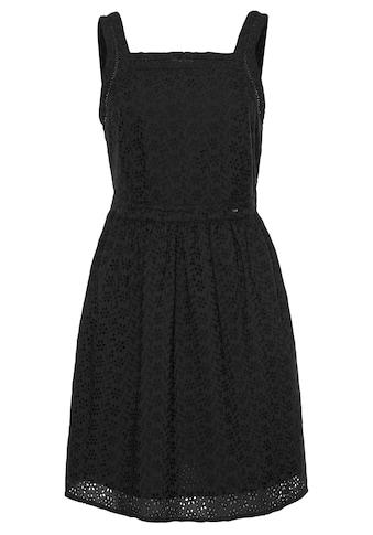Superdry Spitzenkleid »BLAIRE BRODERIE DRESS«, aus Allover Lochstickerei kaufen