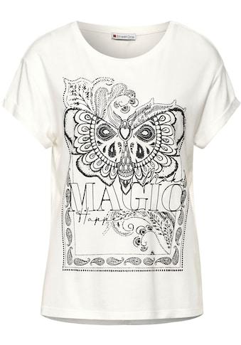 STREET ONE T-Shirt, nachhaltig, mit markantem Print kaufen