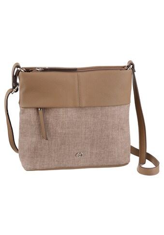 GERRY WEBER Bags Umhängetasche »Keep In Mind«, in schickem Materialmix kaufen