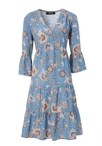 Aniston CASUAL Tunikakleid, mit fantasievollem Blumendruck - NEUE KOLLEKTION kaufen