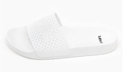Levi's® Badepantolette »JUNE PERF S«, mit LEVI´S Schriftzug kaufen
