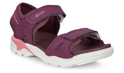 Ecco Sandale »BIOM RAFT«, mit praktischen Klettriemchen kaufen