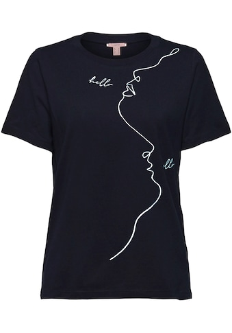 Esprit American-Shirt, mit ästhetischem Print kaufen