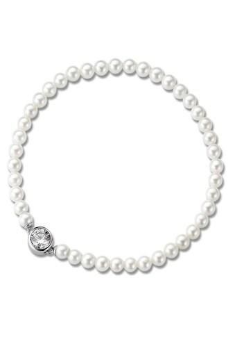 TI SENTO - Milano Armband »2775PW«, mit Swarovski® Perlen kaufen