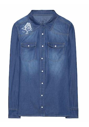 Herrlicher Jeanshemd Komfort kaufen