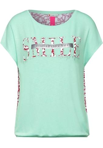 STREET ONE T-Shirt, mit Druck auf Vorder- und Rückseite kaufen