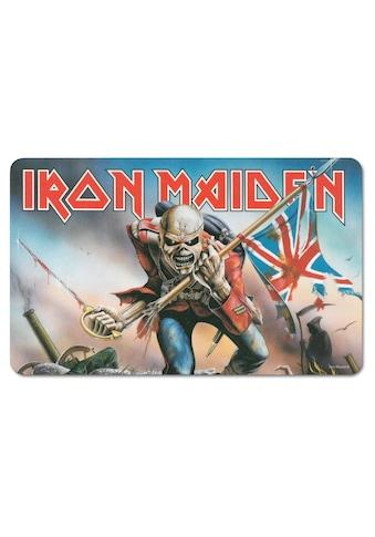 LOGOSHIRT Frühstücksbrettchen mit Iron Maiden Motiv kaufen