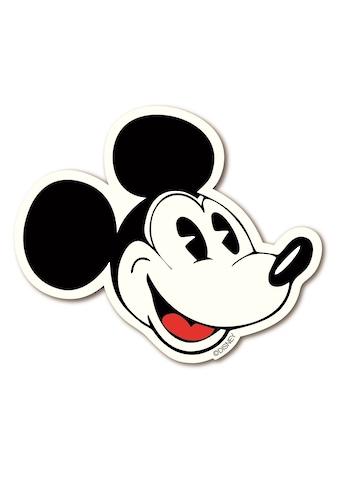 LOGOSHIRT Magnet mit klassischer Mickey Mouse-Silhouette kaufen