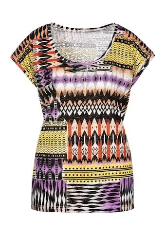Buffalo T-Shirt, Ausbrenner-Qualität mit modischem Druck kaufen