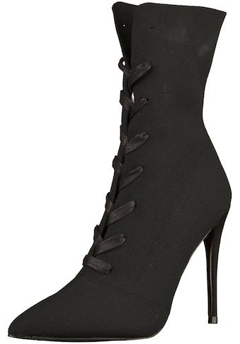 STEVE MADDEN High - Heel - Stiefelette »Textil« kaufen
