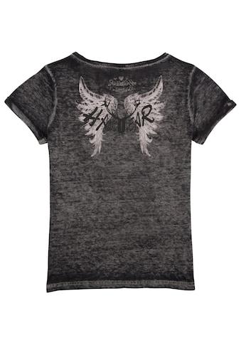 Hangowear Trachtenshirt, Damen mit Hirschmotiv aus Pailletten kaufen