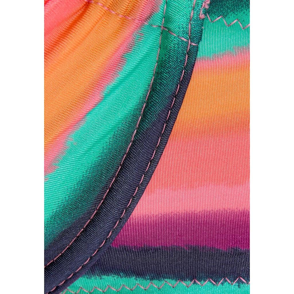 LASCANA Bügel-Bikini-Top »Rainbow«
