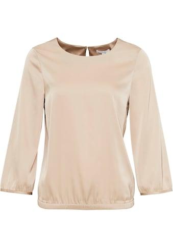 OPUS Shirtbluse »Fanoka«, in edler, schimmernder Optik kaufen