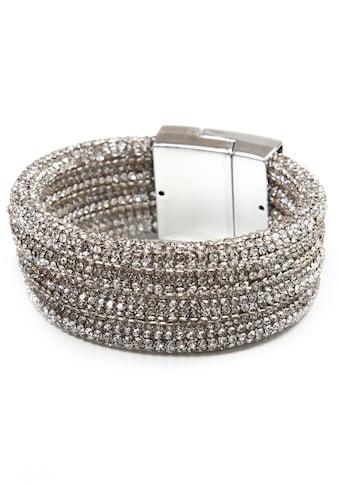 COLLEZIONE ALESSANDRO Armband »A2858-F43«, mit Glassteinen kaufen